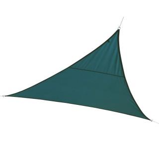 Toile solaire / Voile d'ombrage triangulaire Curacao - 5 x 5 x 5 m - Bleu orage