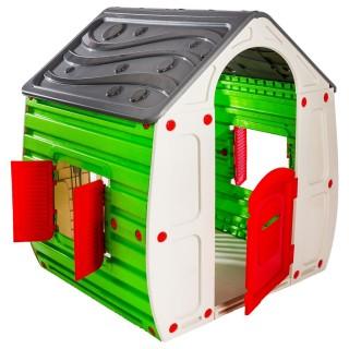 Maisonnette magique pour enfant - 102 x H. 109 cm - Blanc