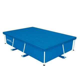 Bâche pour piscine tubulaire rectangulaire - 259 x 170 cm