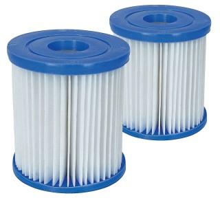 2 Cartouches de filtration pour piscine - Type I