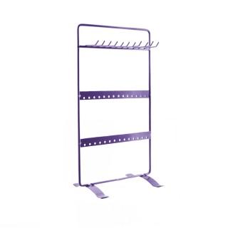 Porte bijoux rectangulaire - H. 27,7 cm - Violet