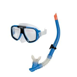 Kit Masque et tuba Reef Rider - Bleu