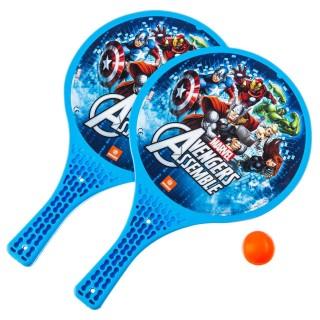 2 Raquettes de plage - Avengers - Balle orange