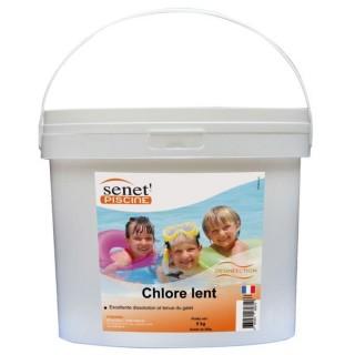 Galets de chlore lent 250 g - 5 kg