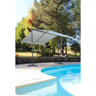 Store double pente Provence - 350 x 300 cm - Ecru