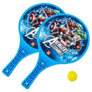 2 Raquettes de plage - Avengers - Jaune