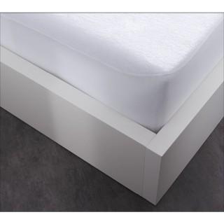Protège matelas Alèse imperméable By Night - 140 x 190 cm - Blanc