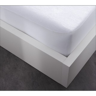 Protège matelas Alèse imperméable - 60 x 120 cm - Blanc