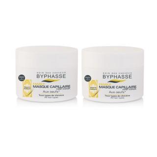 Lot de 2 - Masque capillaire aux Oeufs Familly - Tous Types De Cheveux - 250 ml
