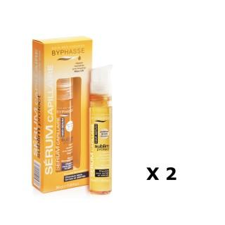 Lot de 2 - Sérum capillaire Protect Cheveux - Cheveux Secs, Ternes Et Abimés - 50 ml