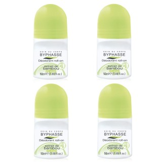 Lot de 2 - Déodorant Roll-On 24h - Bambou - 50 ml