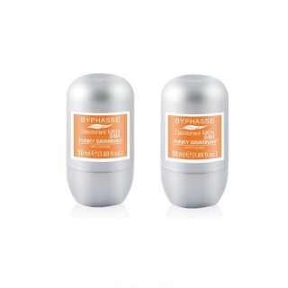 Lot de 2 - Déodorant Roll-On Men 24h - Funky Savannah - 50 ml
