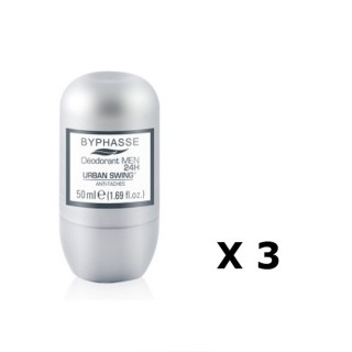 Lot de 2 - Déodorant Roll-On Men 24h - Urban Swing - 50 ml