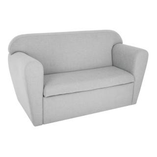 Canapé enfant avec coffre Dream - 79 x H. 45 cm - Gris