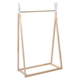 Penderie pour enfant en bois Dream - 76 x H. 126 cm - Marron