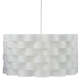 Suspension scandinave Moki - Diam. 42 cm - Blanc