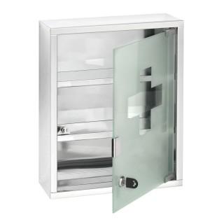 Armoire à pharmacie - Acier - 30 x 40 cm