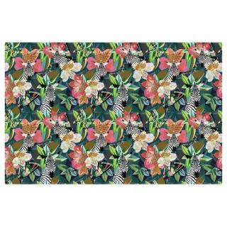 Papier peint adhésif Tahiti - 250 x 50 cm - Multicolore