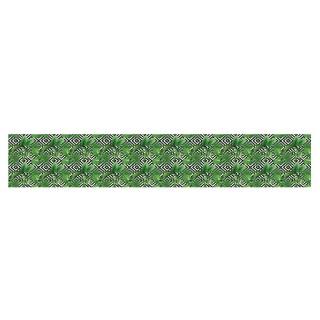 Papier peint adhésif Micronésie - 250 x 50 cm - Vert