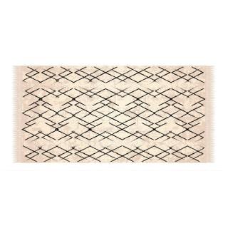Tapis Vinyle rectangulaire Turus - 100 x 80 cm - Beige