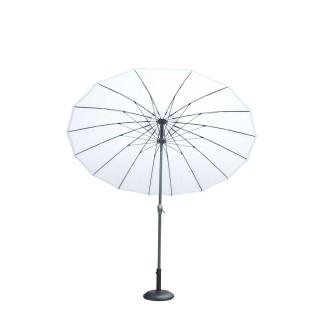 Parasol rond Orfeas - Diam. 2,70 m - Blanc