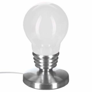 Lampe Touch Ampoule - H. 21,5 - Blanc
