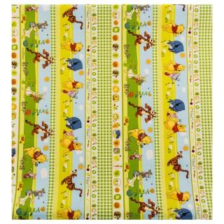Papier cadeau Winnie - 200 x 70 cm - Jaune