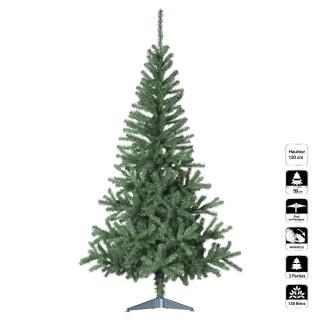 Sapin de Noël artificiel Essentiel - H. 120 cm - Vert