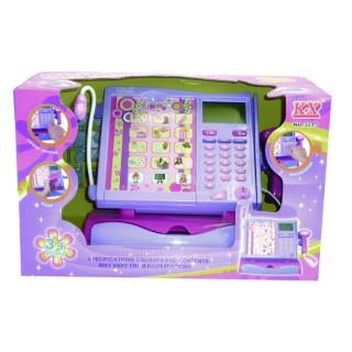 Caisse enregistreuse pour enfant - Ecran tactile - Violet