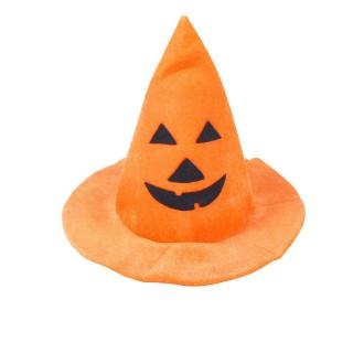 Déguisement d'Halloween - Chapeau citrouille - Orange
