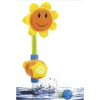 Jouet pour le bain - Fleur arrosoir d'eau - Jaune