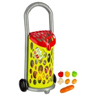 Jouet Chariot de marché garni - Multicolore