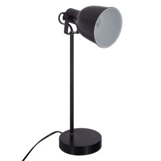 Lampe de bureau en métal Bato - H. 40 cm - Noir