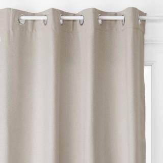 Rideau isolant Noa - 140 x 260 cm - Gris clair