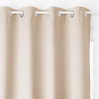Rideau occultant Louna - 135 x 240 cm - Couleur lin