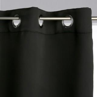 Rideau occultant Louisa - 140 x 260 cm - Noir