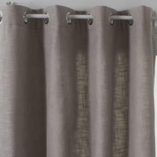 Rideau Clem - 140 x 260 cm - Gris clair