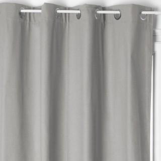 Rideau isolant Laura - 140 x 260 cm - Gris clair