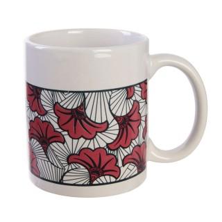 Mug ethnique Wax - 30m ml - Rouge