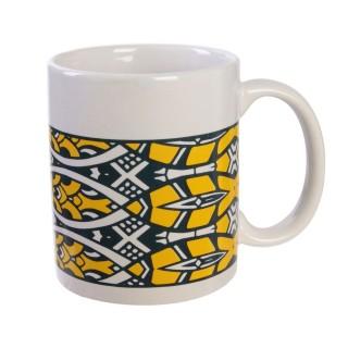 Mug ethnique Wax - 30m ml - Noir