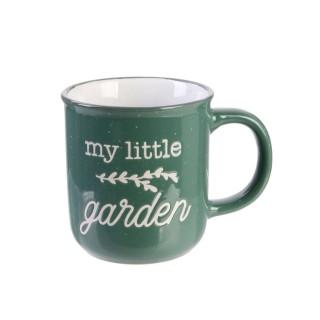 Mug vintage Little Market - Vert foncé