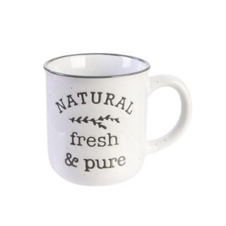 Mug vintage Little Market - Blanc