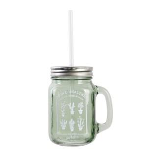 Mason Jar Little Market - 450 ml - Vert d'eau