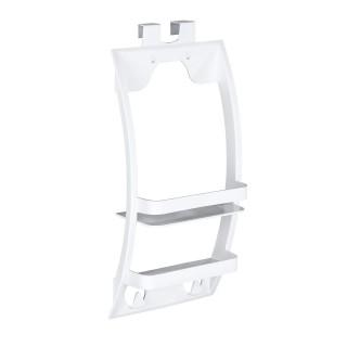 Etagère de douche universelle Urtop - L. 26 x l. 54,5 cm - Blanc