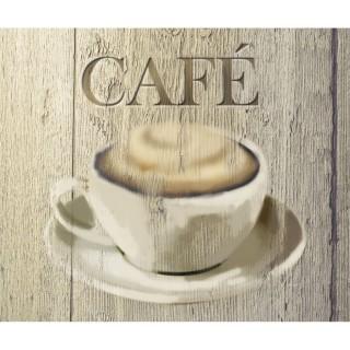 Fond de hotte Café - L. 50 x l. 60 cm - Marron
