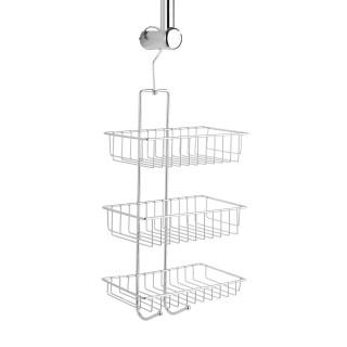 Etagère de douche Nivala - L. 22 x H. 50 cm - Argent