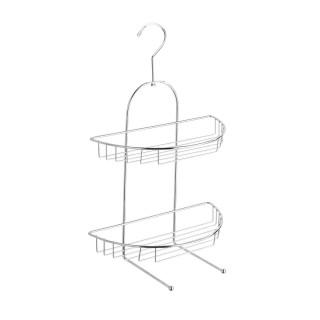 Etagère de douche Kuopio - L. 28 x H. 43 cm - Argent