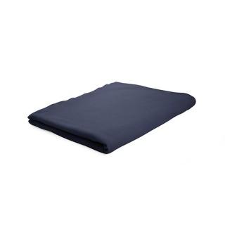 Drap plat Ciel d'orage - 100% coton 57 fils - 180 x 290 cm - Bleu foncé