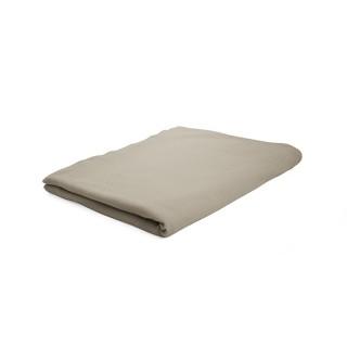 Drap plat Mastic - 100% coton 57 fils - 180 x 290 cm - Taupe