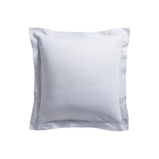 Taie d'oreiller Zinc - 100% coton 57 fils - 75 x 75 cm - Gris